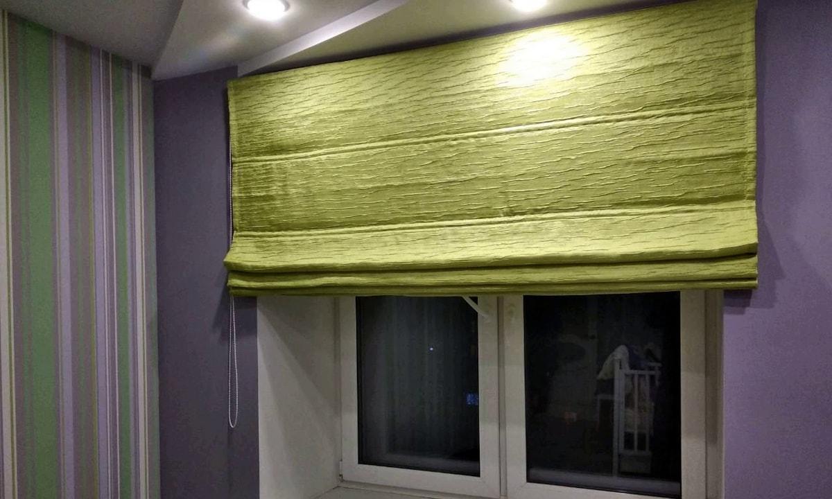 римские шторы на заказ фото