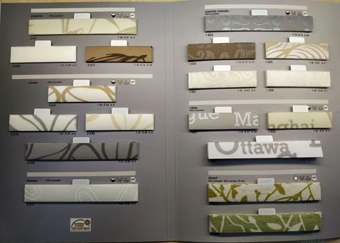 фото ткани для штор плиссе коллекция