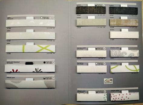 ткани для шторы плиссе коллекция 2 фото