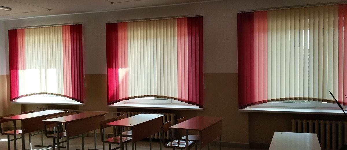 жалюзи вертикальные фото в учебном классе